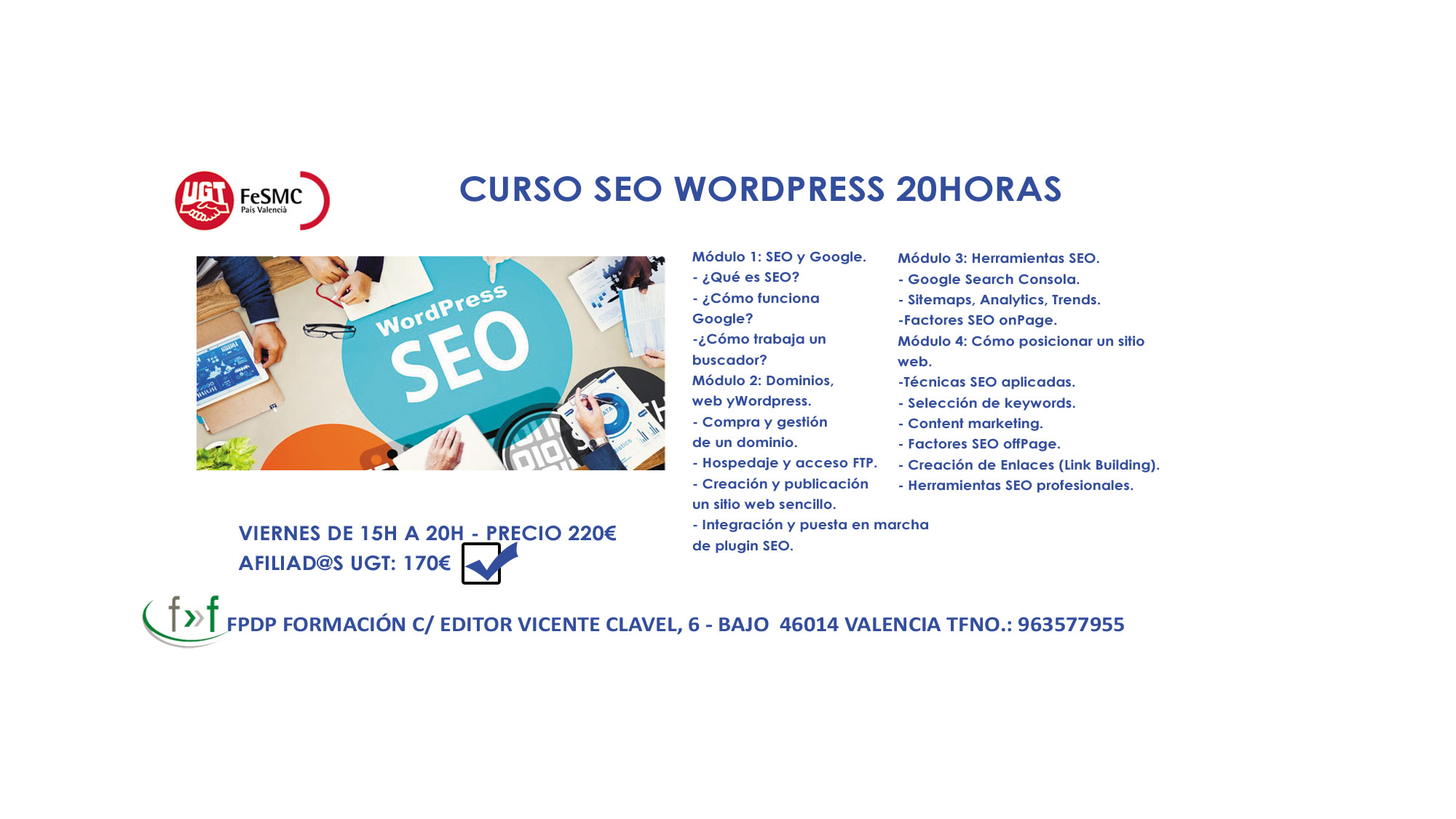 curso seo wordpress